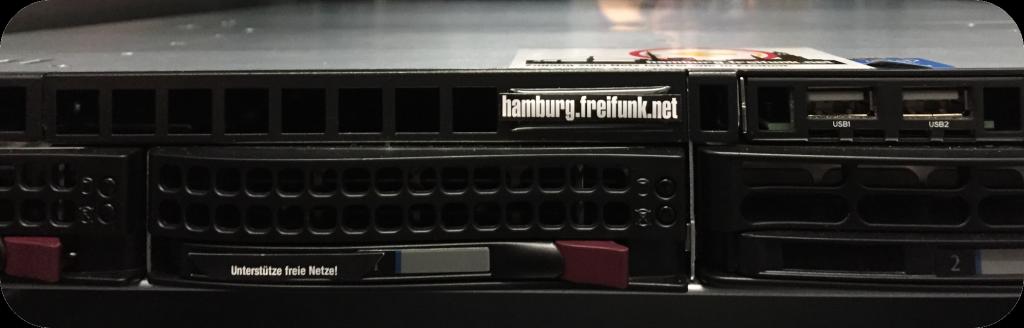 Freifunk Hamburg Server